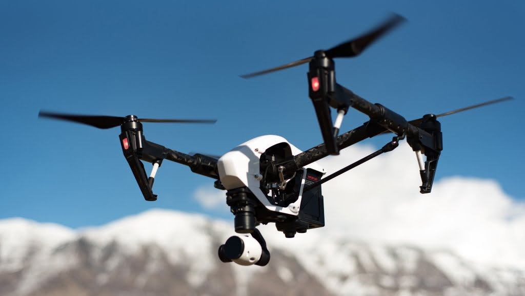 Drone Hire Blog: Drone Flying Mountain Location