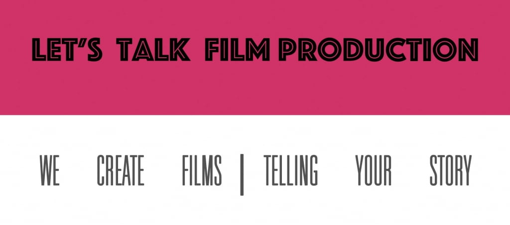 TV and Film production Scotland banner