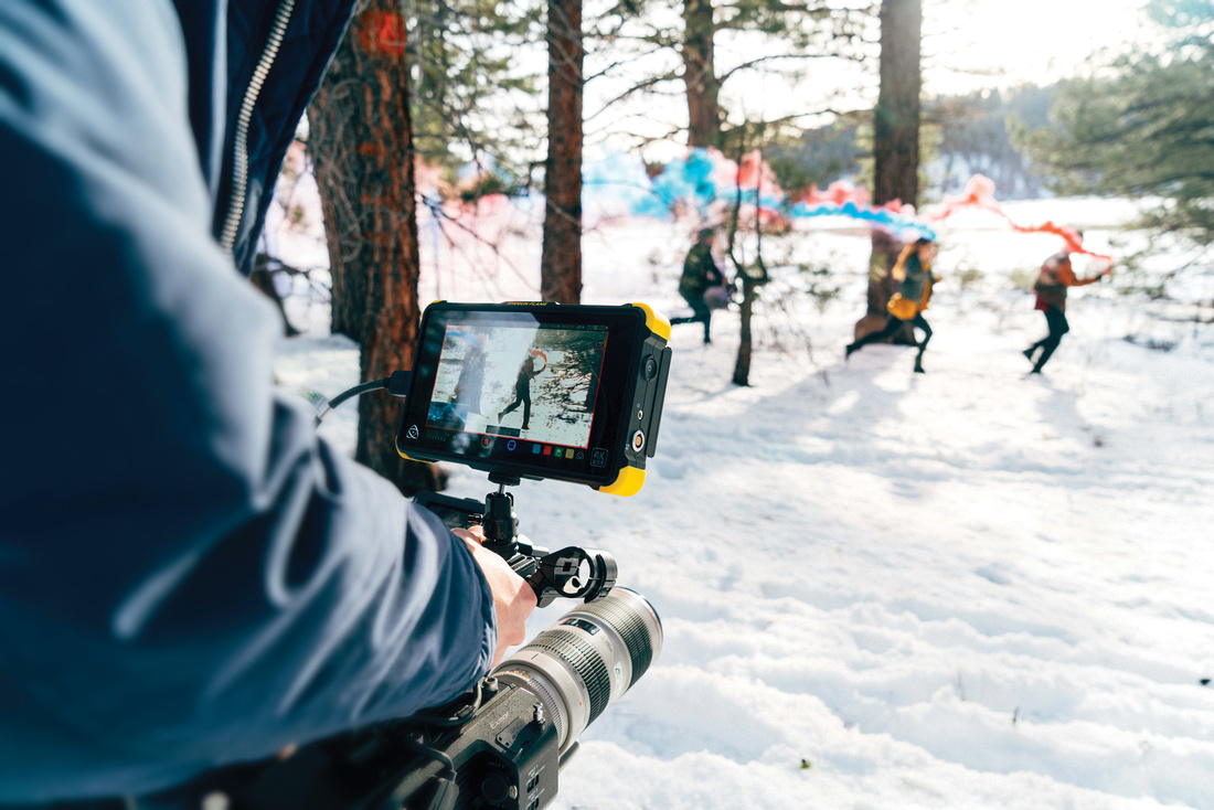 Exterior shot of the Shogun Flame by Atomos