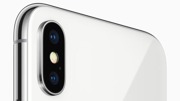 iPhone X front camera