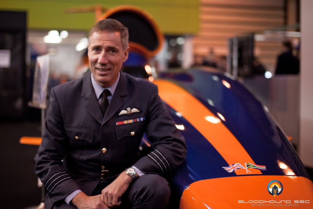 Andy Green Driver of The BLOODHOUND SSC
